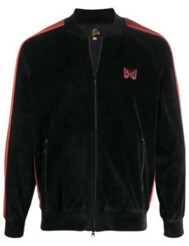 Ribbed Collar Track Jacket by Needles