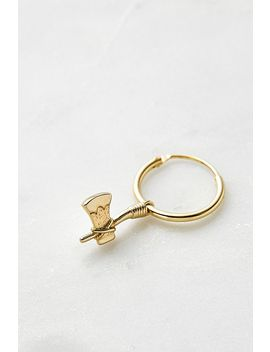 Serge De Nimes Single Axe Earring by Serge De Nimes