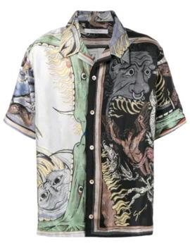 Icarus Printed Shirt by Givenchy