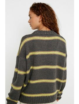 Uo Stripe Jumper by Urban Outfitters