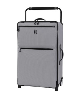 """29.6"""" World's Lightest Wide Handle Design Two Tone 2 Wheel Luggage by It Luggage"""