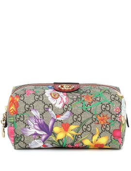 Exclusive To Mytheresa – Ophidia Gg Flora Cosmetics Case by Gucci