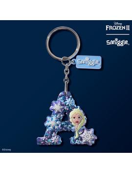 Disney's Frozen 2 Elsa Scented Alphabet Keyring by Smiggle