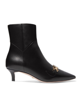 Zumi Leather Ankle Boots by Gucci