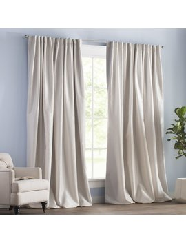 Blackout Rod Pocket Curtain Panels by Wayfair