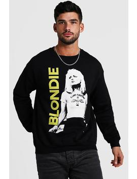 Blondie Loose Fit License Sweatshirt by Boohoo