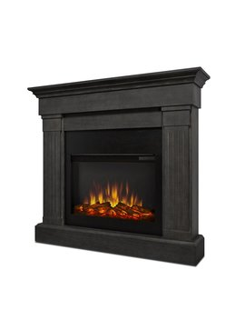 Crawford Electric Fireplace by Wayfair