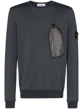 Sweater Met Borstzak by Stone Island
