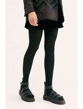 Everyday Rib Sweater Tights by Free People