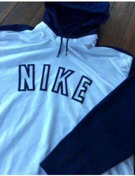 Nike Vintage Hoodie Sweatshirt Big Logo 1990s by Nike  ×  Vintage  ×