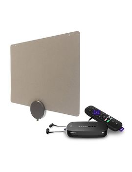 Roku Ultra Media Streamer And Mohu Releaf 30 Mile Antenna by Roku You'll Also Get The 30 Mile Mohu Releaf Antenna, Which Scans And Delivers Your Local Channels In Hd Resolution. This Bundle Serves As An Awesome Entertainment Alternative To Standard Cable!