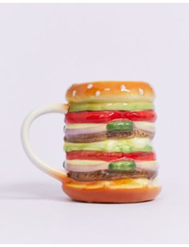 Typo Burger Novelty Mug by Typo