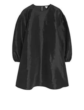 A Line Taffeta Dress by Arket