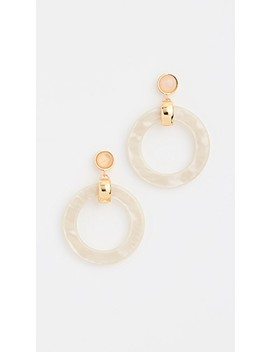 Sun Bleached Hoops by Lizzie Fortunato
