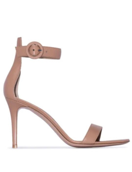 Sandales Tan 85mm by Gianvito Rossi