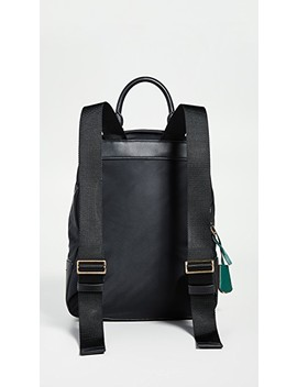Perry Nylon Zip Backpack by Tory Burch