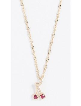 Cherry Bomb Necklace by Ariel Gordon Jewelry