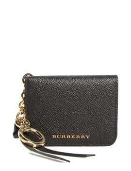 Camberwellid Leather Card Case Bag Charm by Burberry