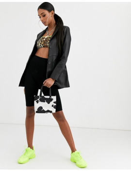 Asos Design – Premium – Blazer I Läder by Asos Design