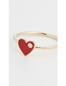 Mia Enamel Ring by Jennifer Zeuner Jewelry