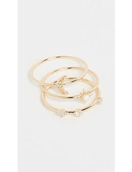 Luna Ring Set by Gorjana