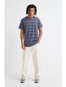 Iets Frans… Blue Stripe Dad T Shirt by Iets Frans...