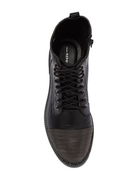 Xander Lace Up Chain Cap Toe Boot by Report