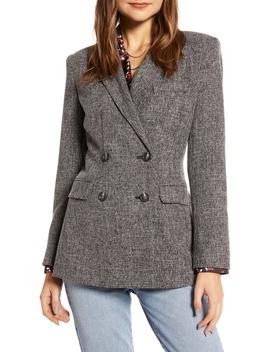 Stretch Tweed Blazer by Something Navy