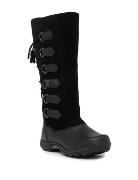 Chamonix Waterproof Suede Tall Snow Boot by Baffin