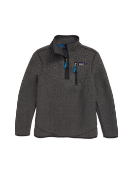 Retro Pile Recycled Fleece Quarter Zip Pullover by Patagonia