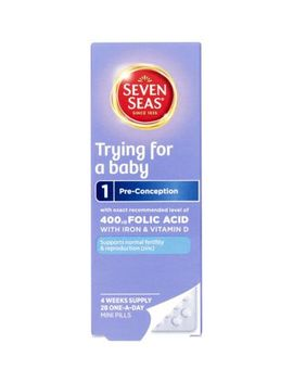 Seven Seas Trying For A Baby Vitamins   28 One A Day Pills by Seven Seas