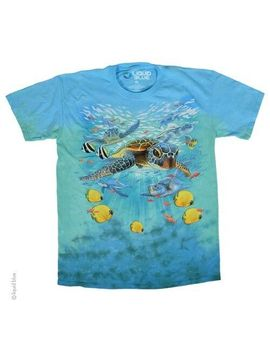New Sea Turtles Tie Dye T Shirt by Liquid Blue