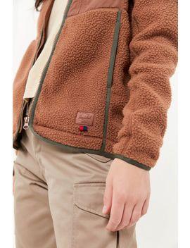 Herschel Supply Co. Sherpa Zip Front Jacket by Herschel Supply Co.