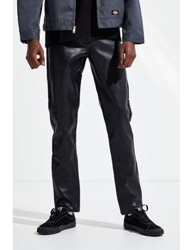 Bdg Faux Leather Skinny Pant by Bdg