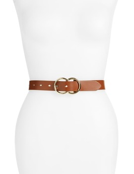 Double Ring Leather Belt by Halogen®