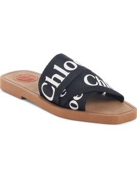 Logo Slide Sandal by ChloÉ