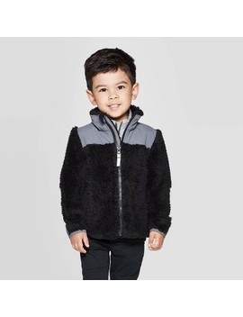Toddler Boys' Fleece Jacket   Cat & Jack™ by Cat & Jack