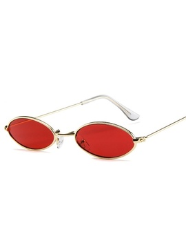 New Brand Designer Vintage Oval Sunglasses Women/Men Retro Clear Lens Eyewear Sun Glasses For Female Uv400 by Wish