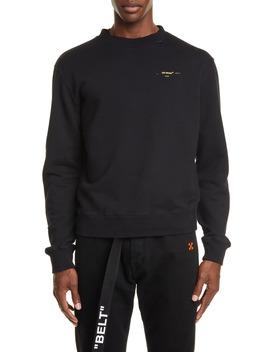 Slim Fit Crewneck Sweatshirt by Off White