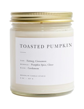 Minimalist Collection   Toasted Pumpkin Candle by Brooklyn Candle