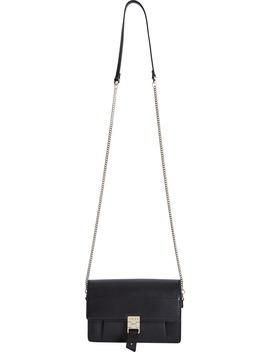 Aubrey Leather Crossbody Bag by Reiss