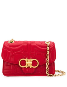Gancini Quilted Bag by Salvatore Ferragamo