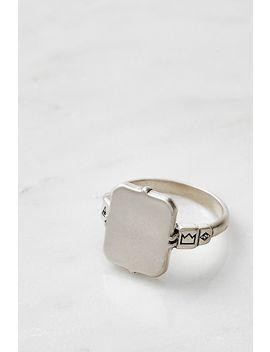 Serge De Nimes Mirror Sterling Silver Ring by Serge De Nimes