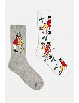 Nutcracker Socks 2 Pack by Urban Outfitters