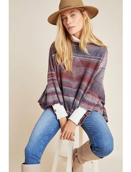 Anais Striped Poncho by Muche Et Muchette