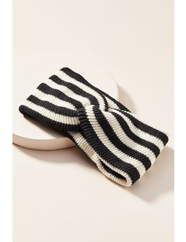 Lola Striped Twist Headband by Anthropologie