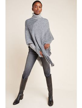 Bailey Fringed Poncho by Anthropologie