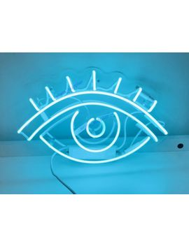 "New Eye Neon Sign Wall Decor Artwork Light Lamp Display Party 14"" by Ebay Seller"