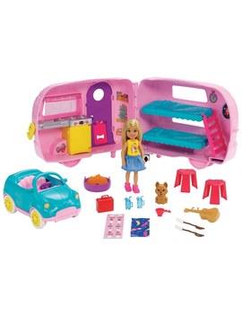 Barbie Club Chelsea Camper by Smyths