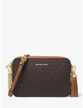 Michael Michael Kors Crossbodies Medium Camera Bag, Brown by Michael Kors